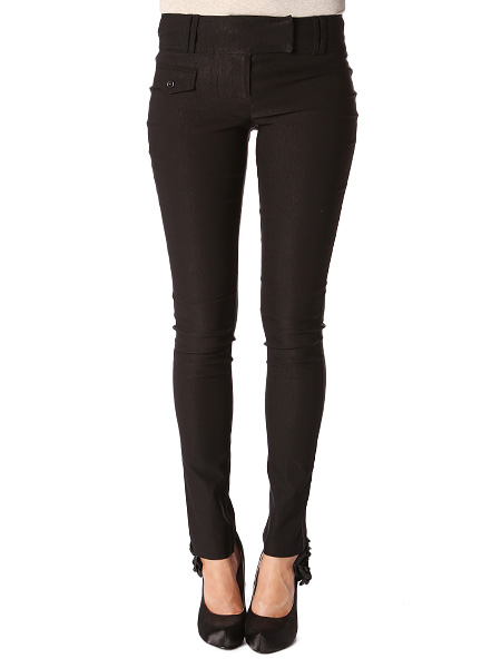 Black Dressy Skinny Pants | Shop Bottoms at Papaya Clothing