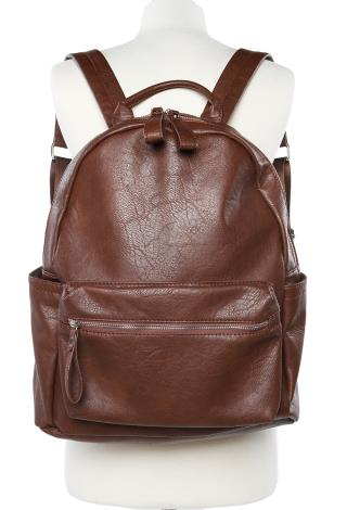 Classic Leather Backpack | Shop Bags & Wallets at Papaya Clothing