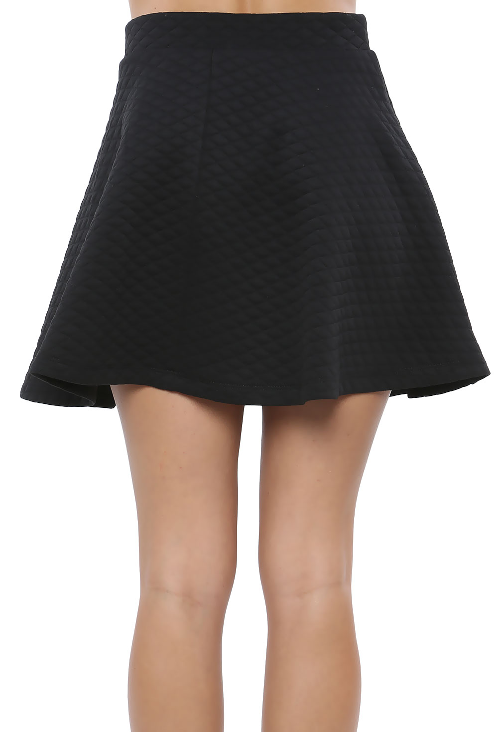 Stitched Flare Skirt