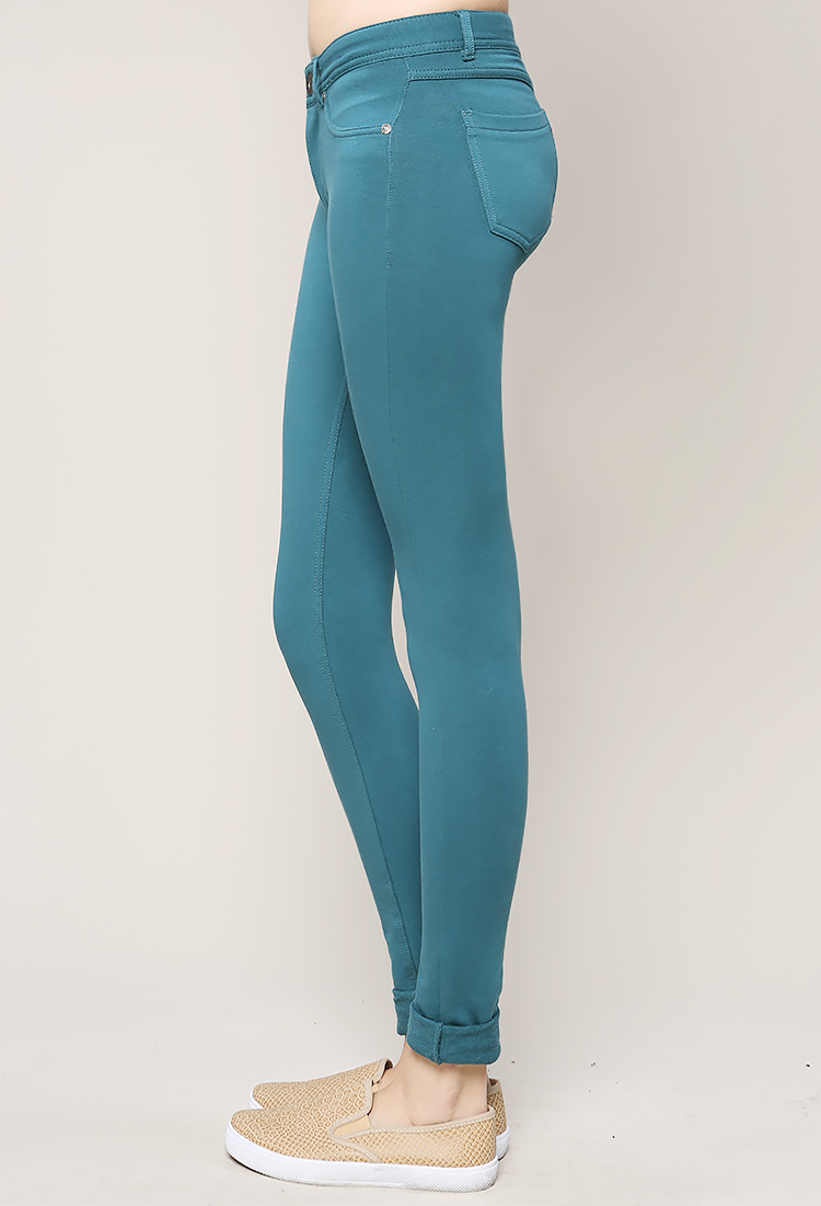 Colorful Leggings. Complete every outfit with colorful leggings. Bright patterns bring drama to the simplest looks. Rich colors create unexpected depth.