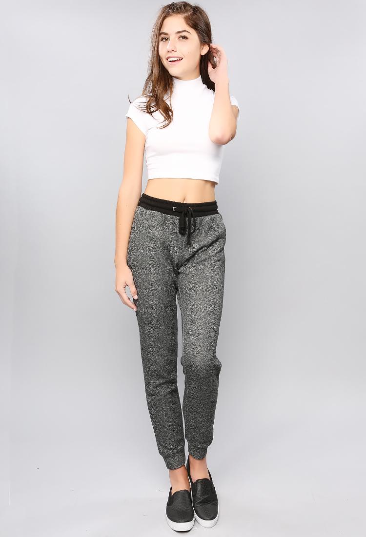 23 Wonderful Grey Joggers Women Outfit | sobatapk.com