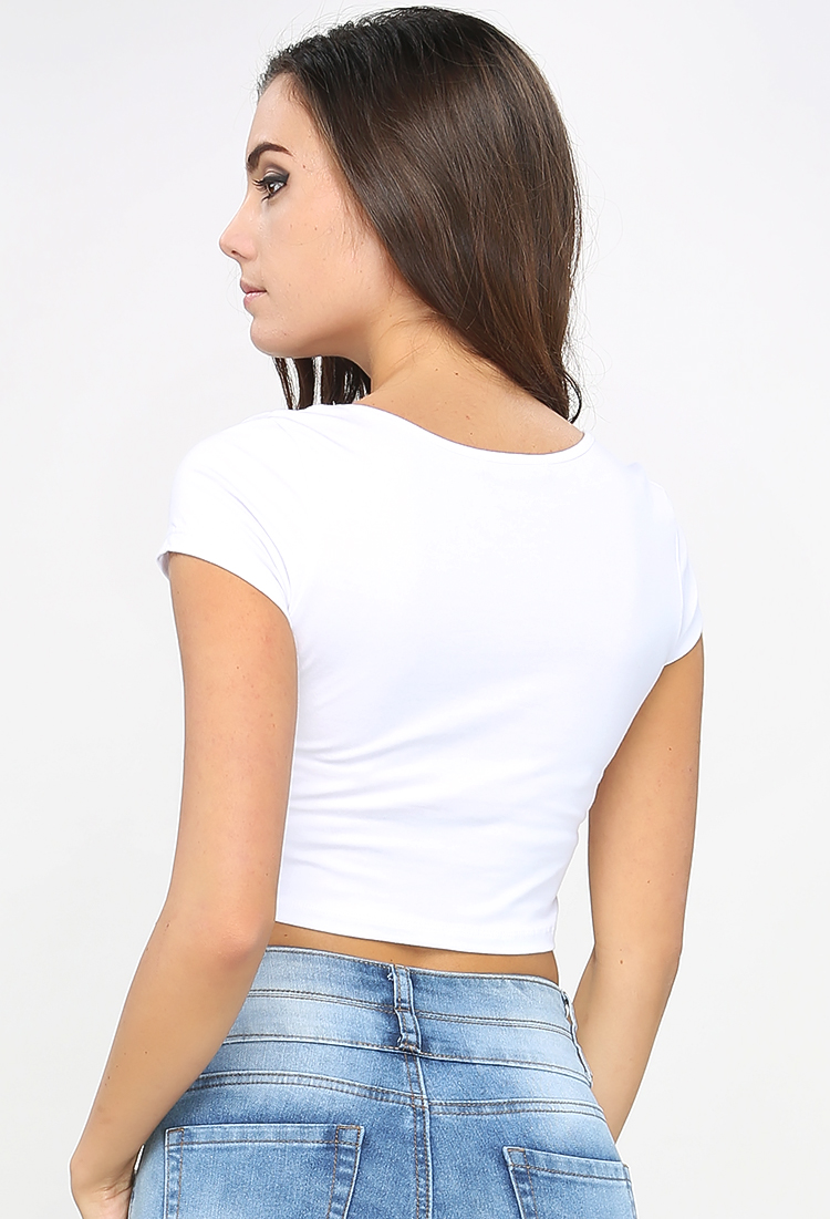 Essential Solid Crop Top