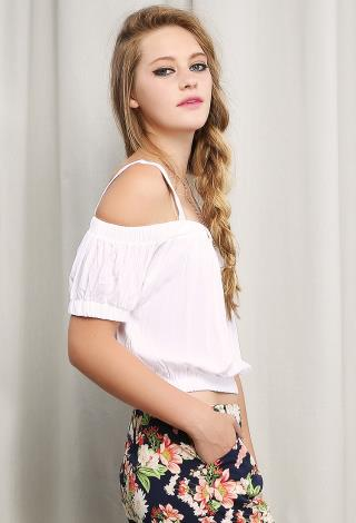 Off Shoulder Bohemian Top