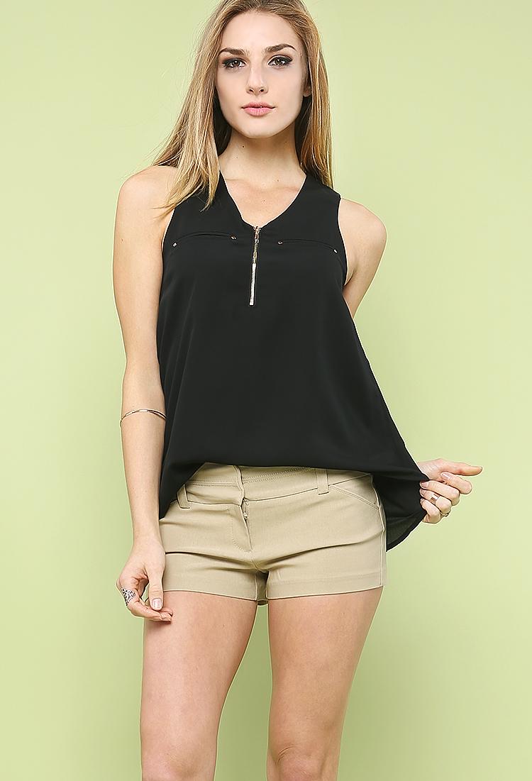 Basic Dressy Shorts | Shop Casual at Papaya Clothing