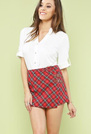 plaid skirt sex