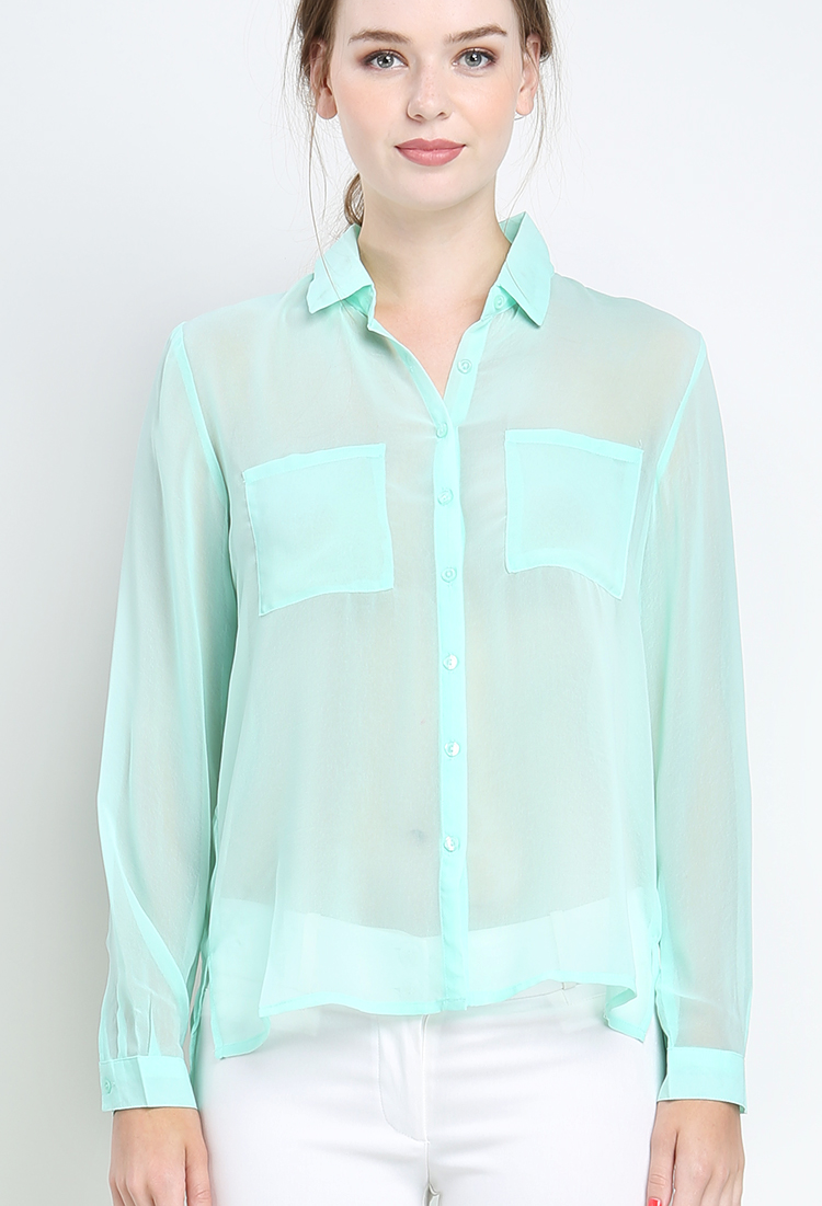 A must for every stylish lineup, our always-perfect Madison Shirt blends the best of button-downs with totally modern accents. Skirts, shorts, pants, jeans - this shirt works with just about everything.