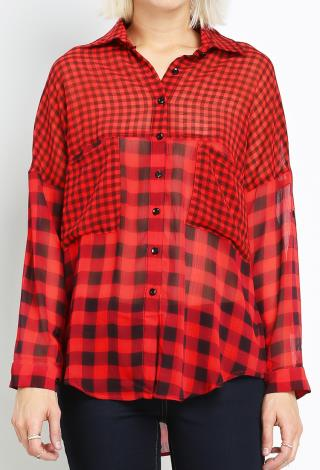 lidarwindtechnolog.ga: red chiffon top. From The Community. Amazon Try Prime All checkered shirt red flannel womens long sleeve top ladies plaid Fancyqube Women's Lantern Sleeve Chiffon Sexy Hollow Out Front Crop Tie Top Top Cardigan T-Shirt. by Fancyqube. $ - $ $ 6 $ 8 99 Prime.