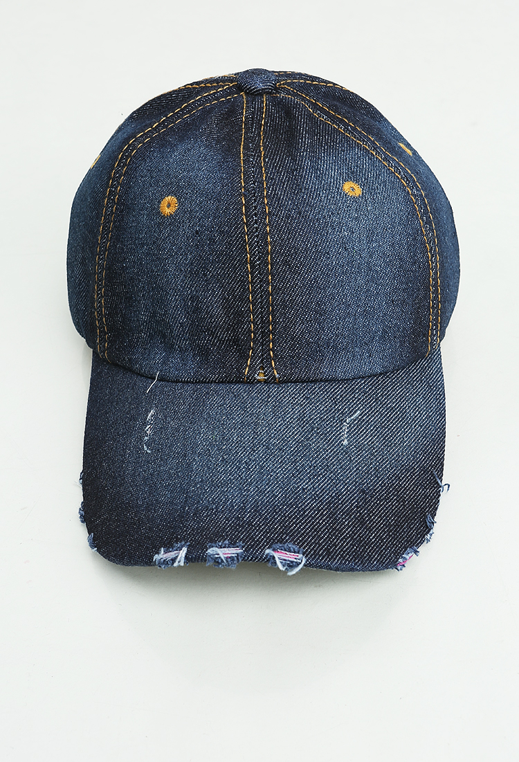 Denim Cap | Shop Hats u0026 Hair at Papaya Clothing