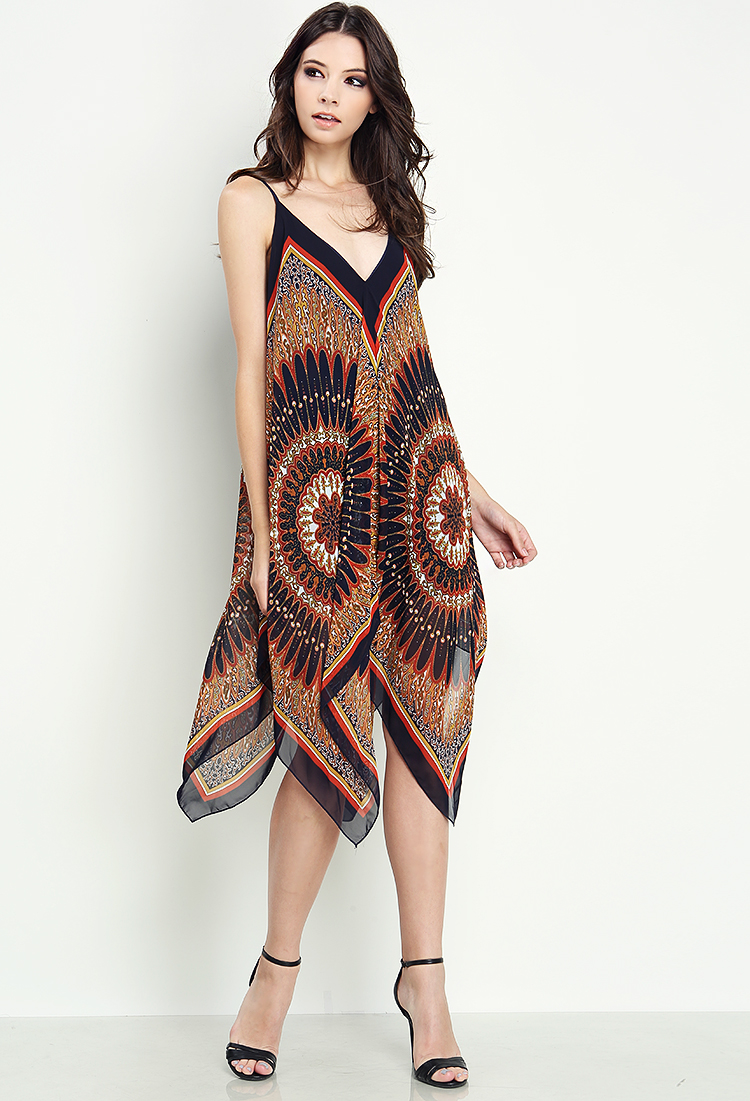 Tribal Patterned Flowy Dress | Shop Old Day Dresses at Papaya Clothing
