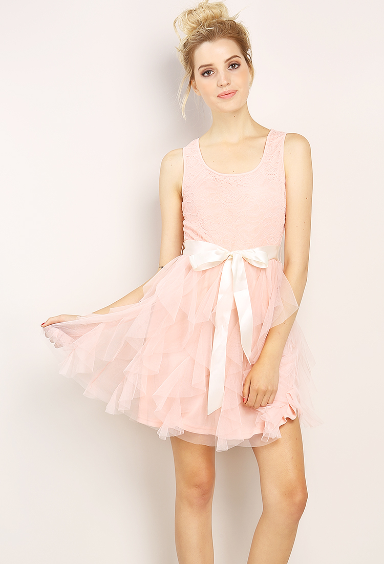 d642ec83fc0a Tulle Mini Dress   Shop Old Night Out Dresses at Papaya Clothing