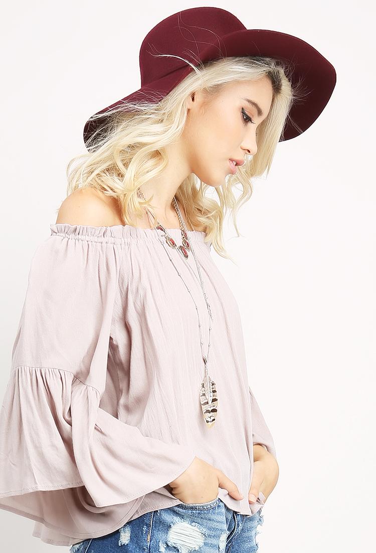 Wool Floppy Hat | Shop Hats & Hair at Papaya Clothing