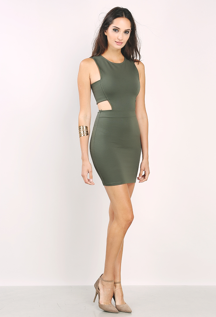Side Cut Out Dress
