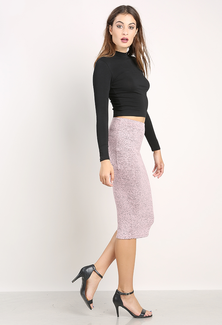 Knit Midi Skirt | Shop Skirts at Papaya Clothing
