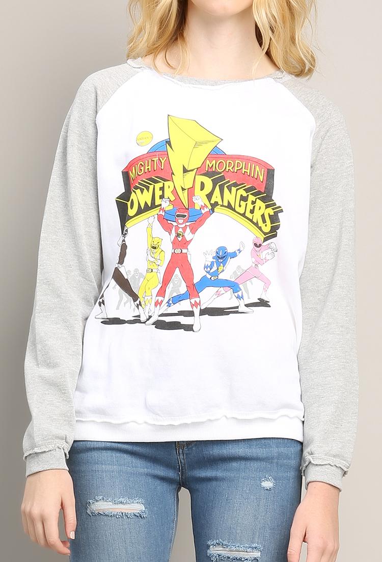 low priced 18483 3e44c Power Rangers Sweatshirt | Shop Holiday Sweater at Papaya ...