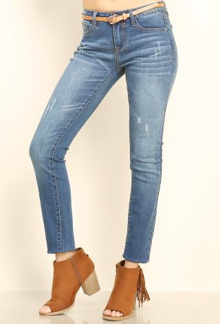French Dressing Olivia Straight Leg Love Denim Jeans (2 Colors)