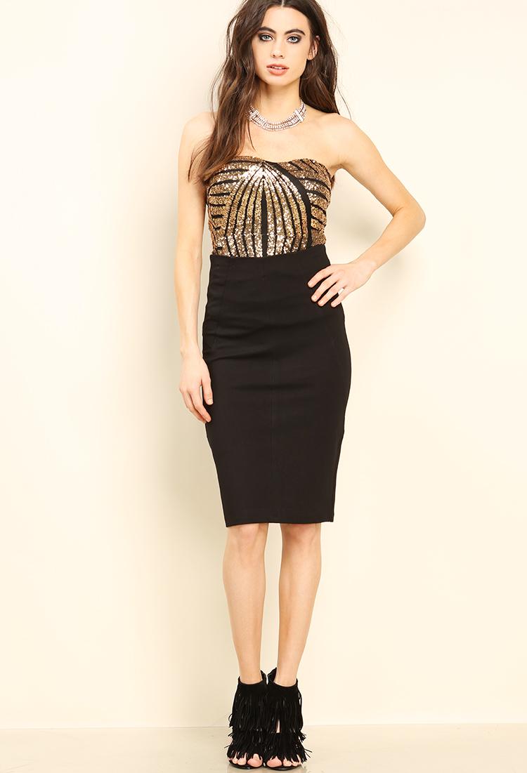 Classic Midi Skirt | Shop Midi Skirts at Papaya Clothing