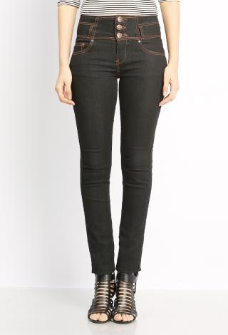 MUST HAVE THREE BUTTON HIGH-WAIST JEANS | Shop Not So Basics at ...