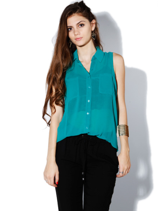 Basic Chiffon Blouse Top