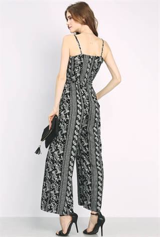 Tribal Print Cami Jumpsuit | Shop Dresses at Papaya Clothing