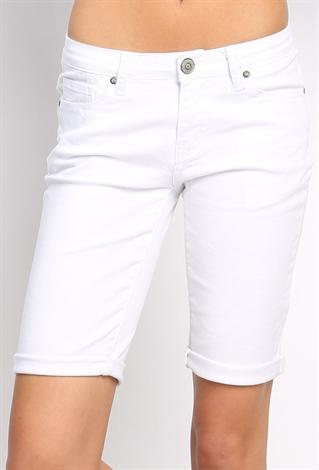 White Short Pants | Shop Bottoms at Papaya Clothing
