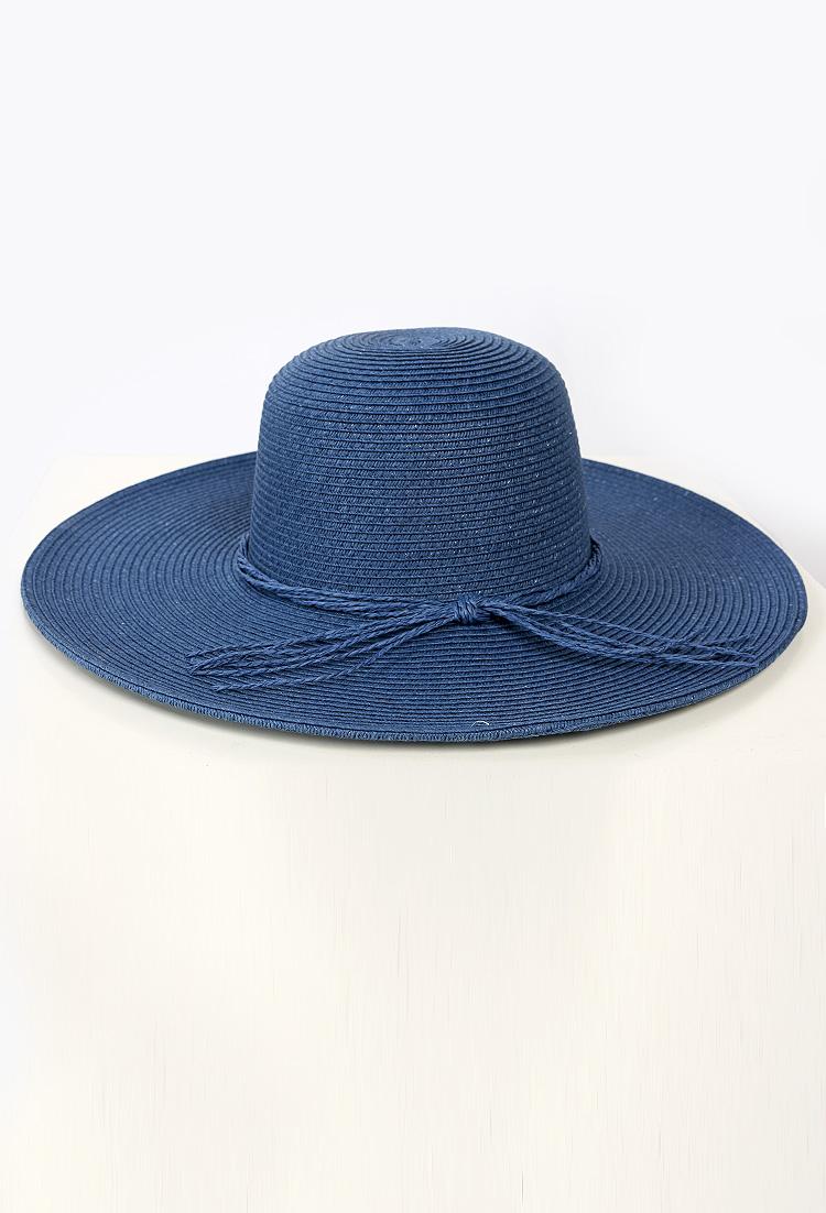 Straw Floppy Hat | Shop Hats & Hair at Papaya Clothing