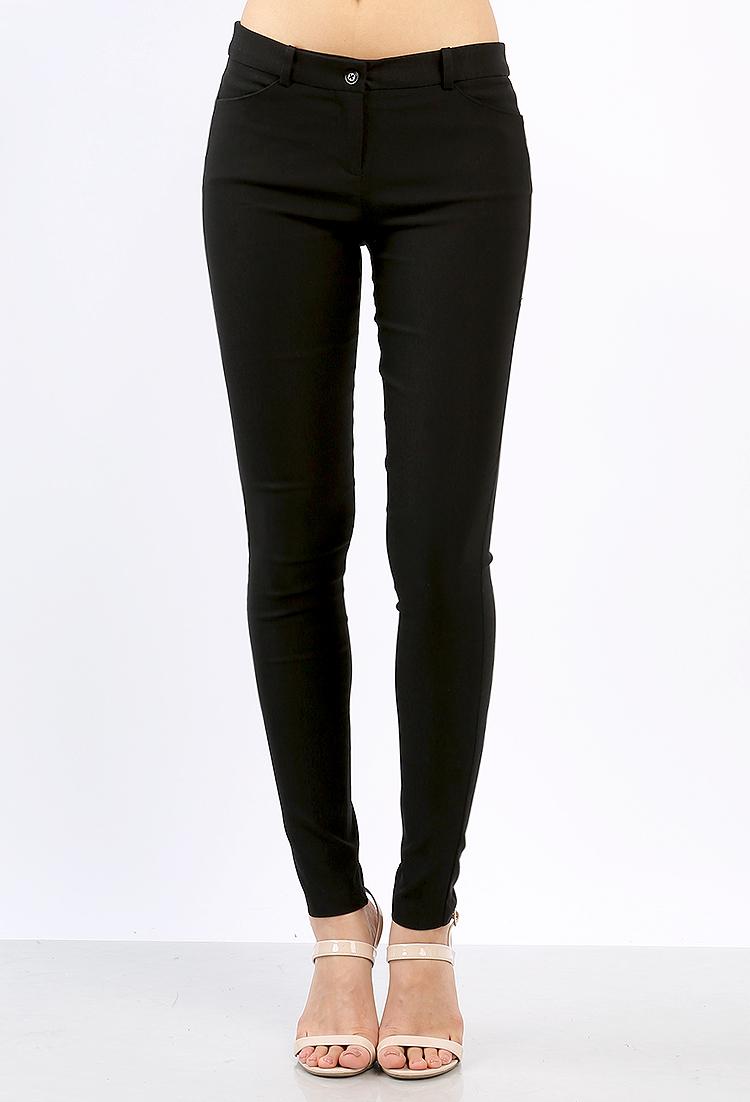Skinny Dress Pants | Shop Office Girl at Papaya Clothing