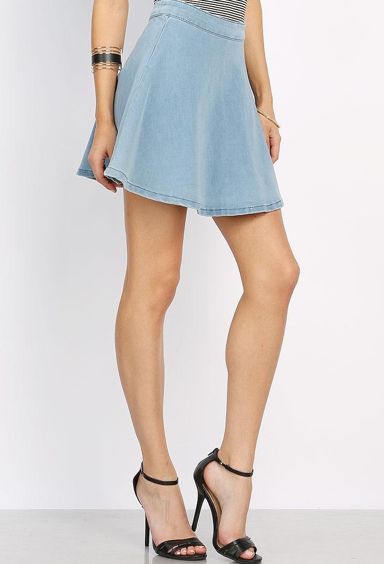 Flare Mini Skirt 100