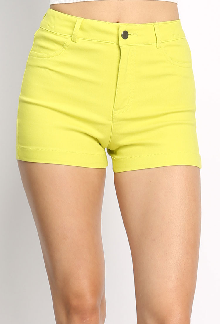 Women's high waisted shorts are perfect to make your figure look slim and taller. In summer months there is nothing better than a pair of cheap women's high waisted shorts to step out in.