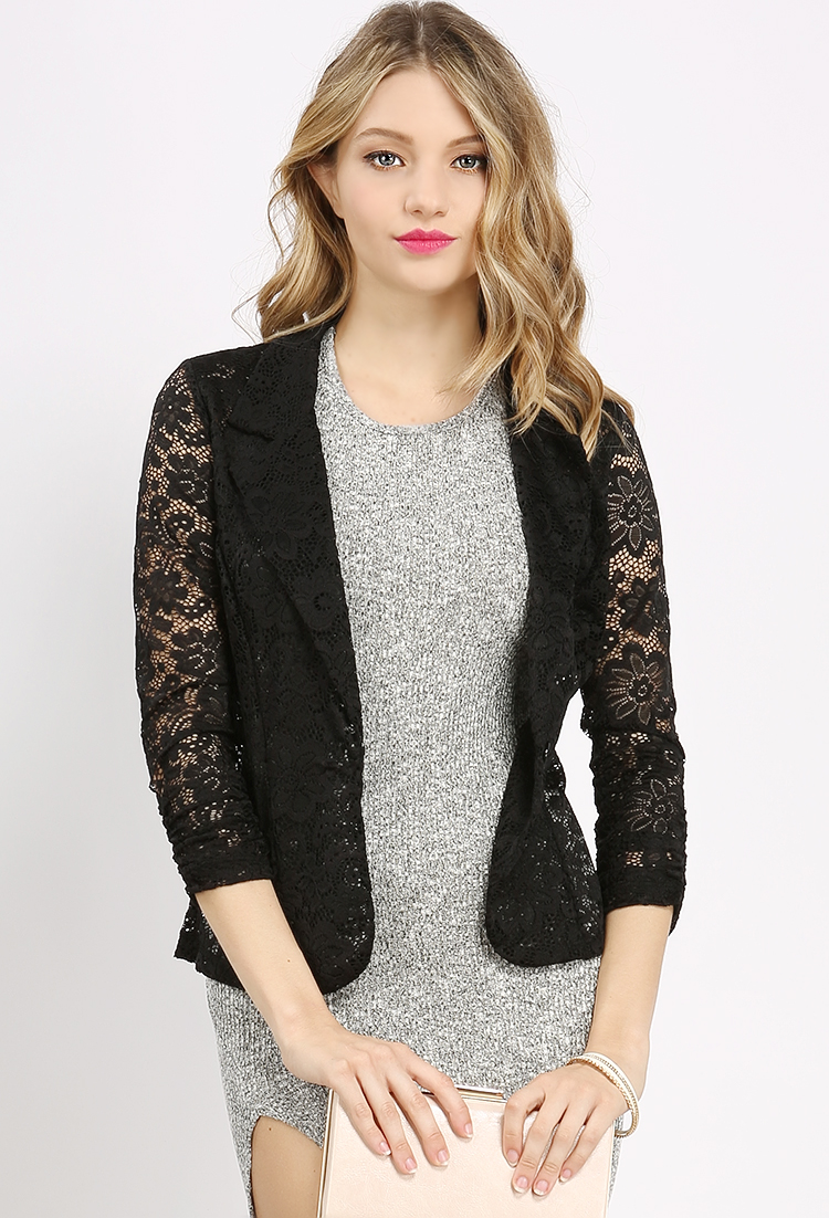 Lace Dressy Cardigan Jacket | Shop Jackets at Papaya Clothing