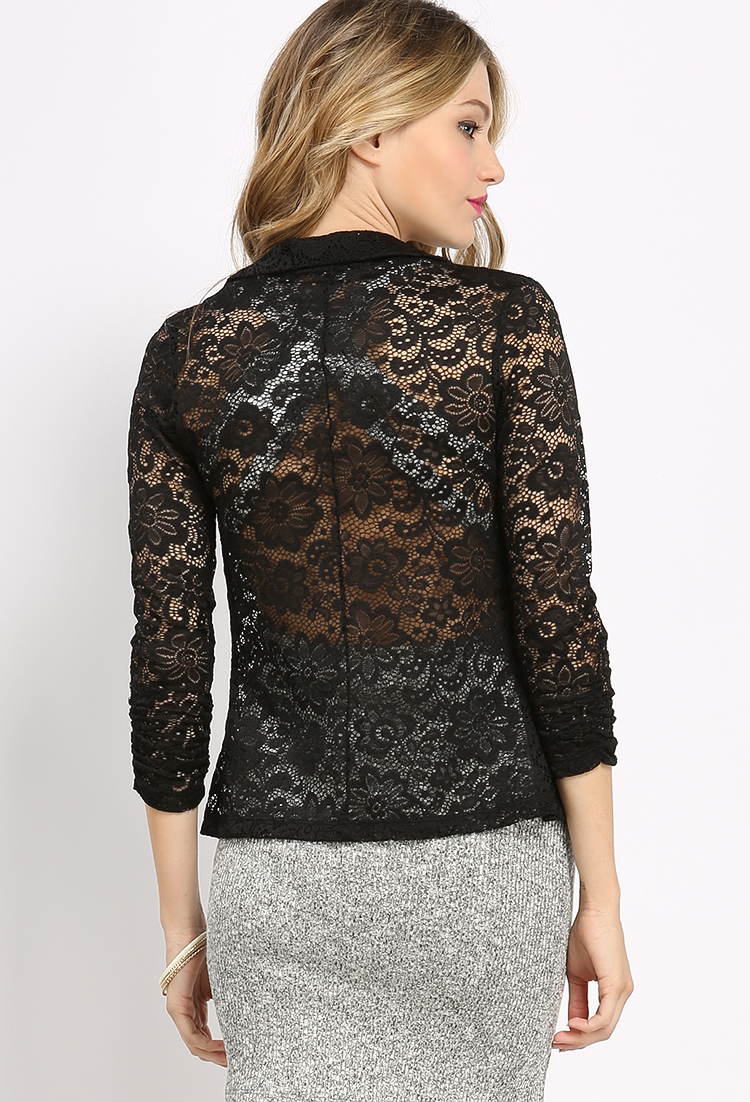 Lace Dressy Cardigan Jacket | Shop at Papaya Clothing