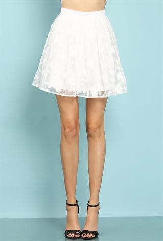 Flare Mini Skirt 121