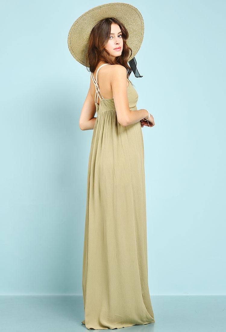 Roped Strap Maxi Dress   Shop Dresses at Papaya Clothing