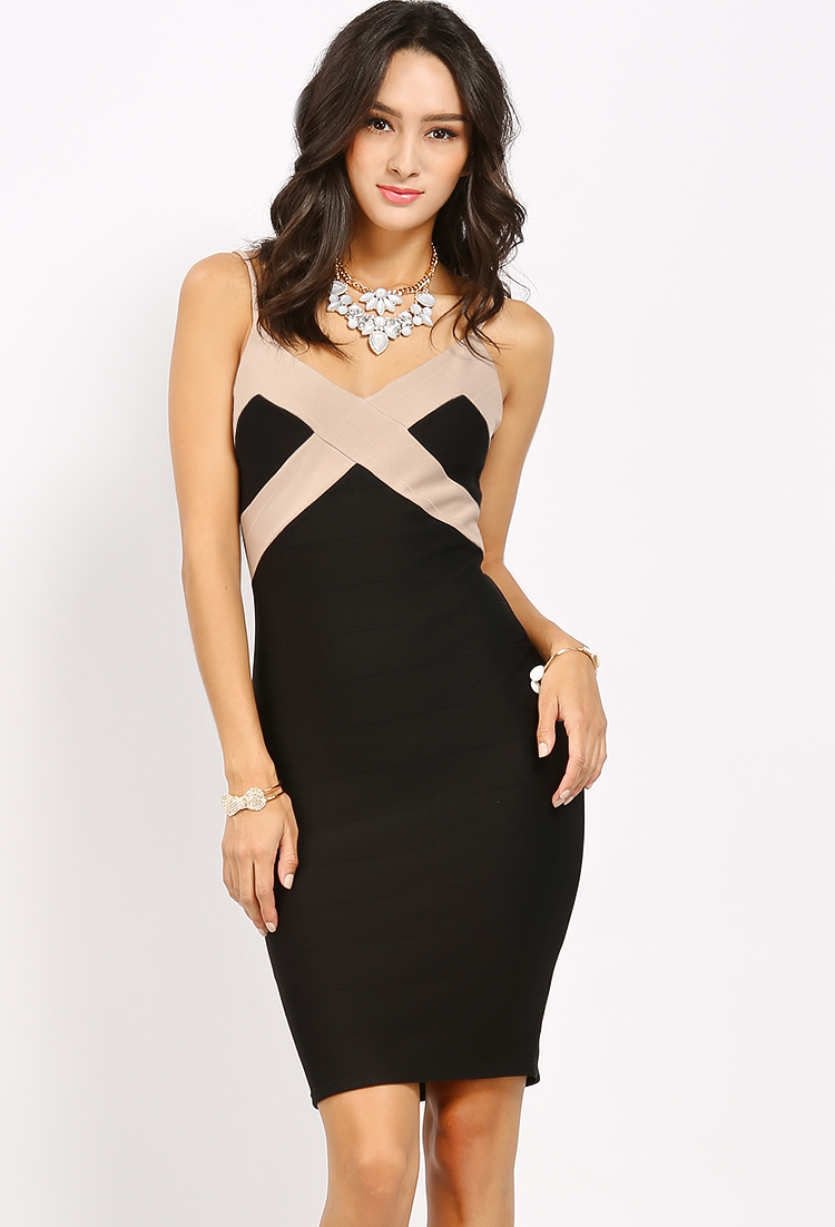 Contemporary thin strapped dress shop bodycon dresses at for Modern house dress