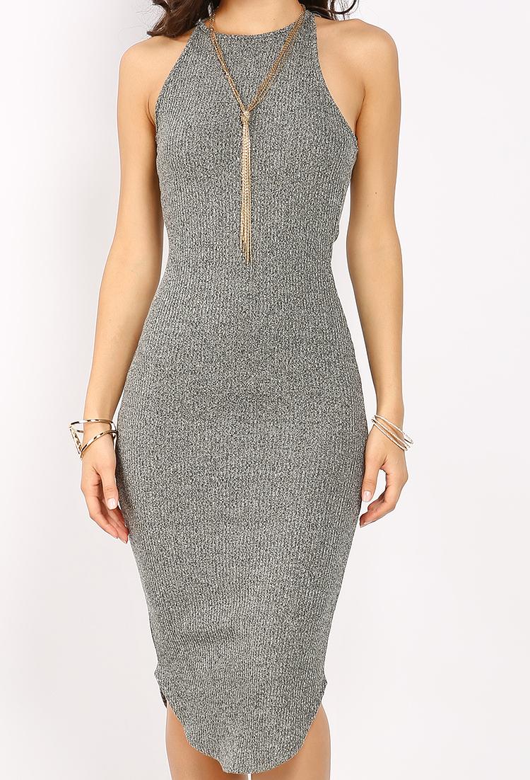 373545c5e0 Ribbed Knit Cami Midi Dress | Shop Old Day Dresses at Papaya Clothing