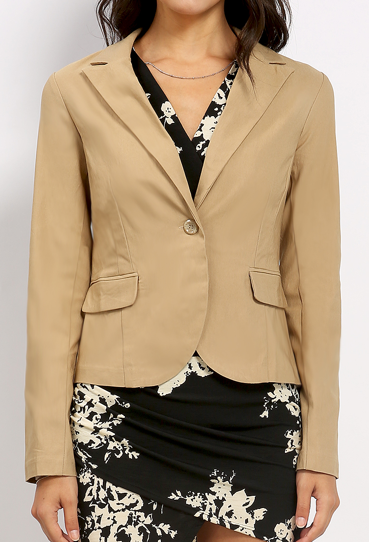 Single-Buttoned Blazer