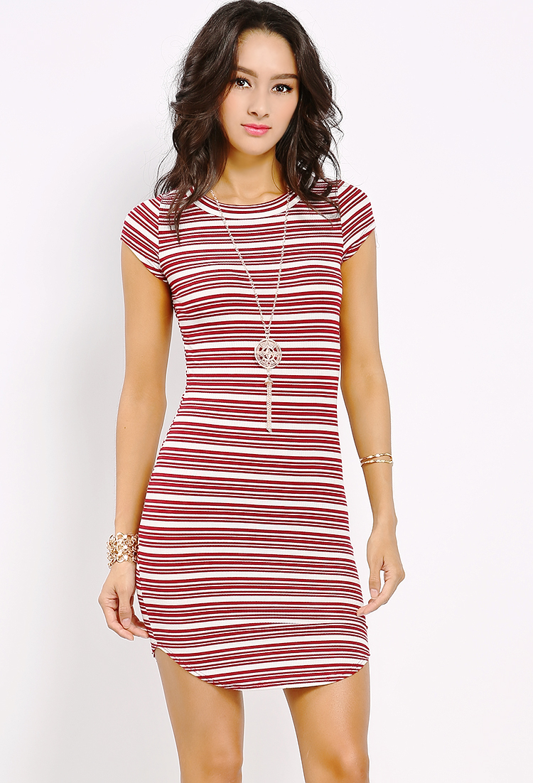 980e5ae75b15 Striped Bodycon Mini Dress