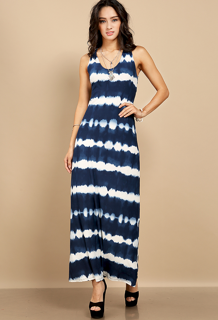 Tie dyed sleeveless maxi dress shop trend alert at for Tie dye sleeveless shirts