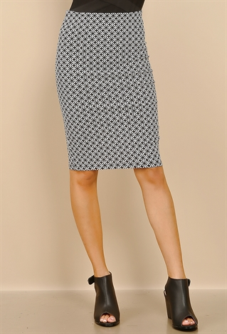 patterned midi skirt shop dressy at