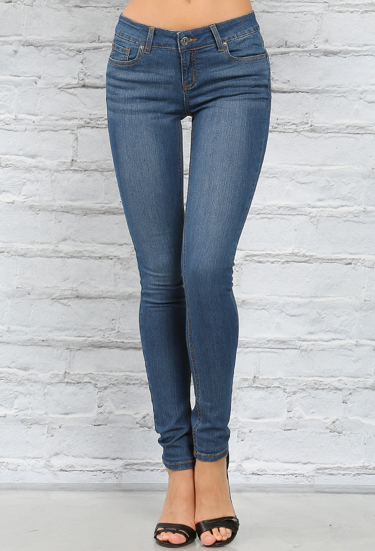 Premium Denim Skinny Jeans | Shop Jeans at Papaya Clothing