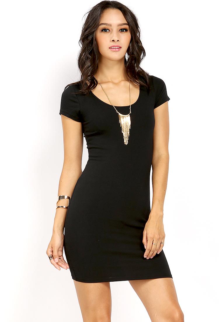 2ee313c7f7 Basic Bodycon T-Shirt Dress | Shop Old Midi Dresses at Papaya Clothing