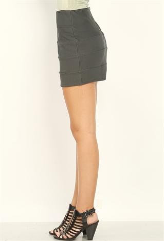 Back Zip Skirt 69