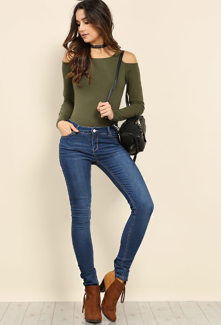 06f6e19e Butts Up! Mid-Rise Skinny Jeans | Shop Old Jeans at Papaya Clothing
