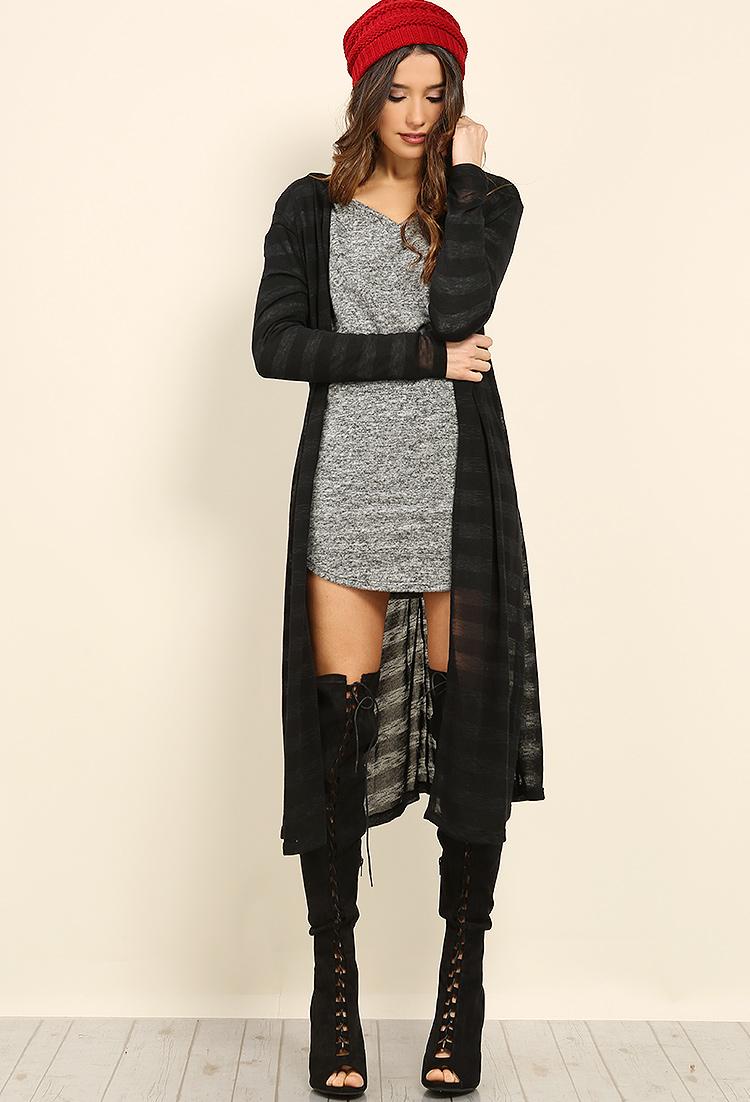 Sheer Duster Cardigan | Shop Fall Fashion at Papaya Clothing