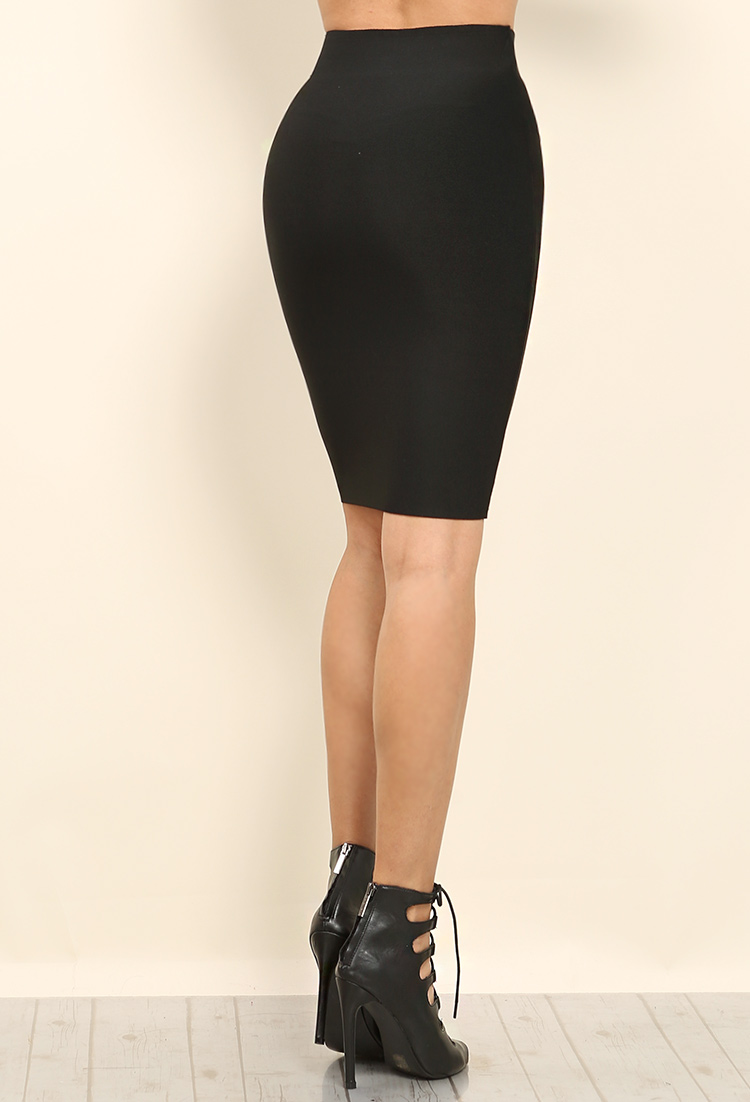 7ca0f485360 Thick High Waist Bandage Fit Skirt