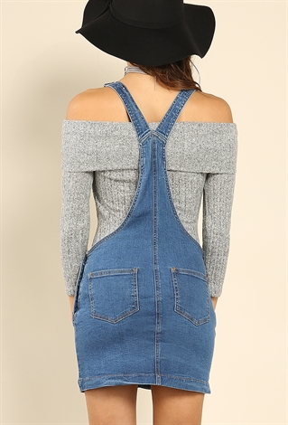 Denim Overall Skirt 98