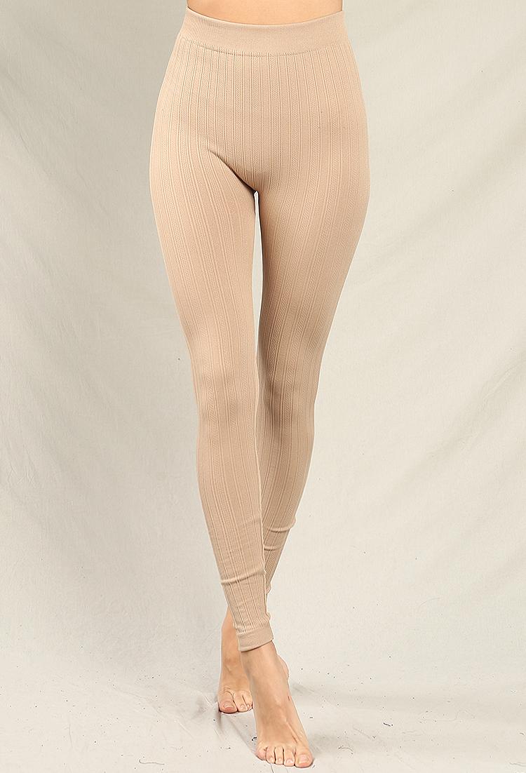 2aa95fcebc16f Cable Knit Leggings | Shop Old Active/Lounge Wear at Papaya Clothing