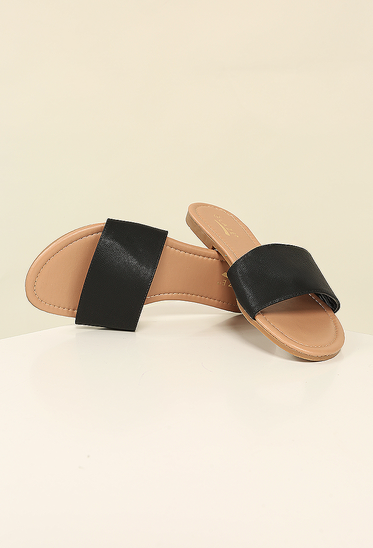 Free Shipping Huge Surprise leather slides Visit New Cheap Online OAweC