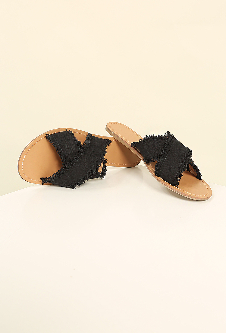 frayed sandals Marketable Online Buy Cheap Visit New For Sale Free Shipping oK6qdc7FRa