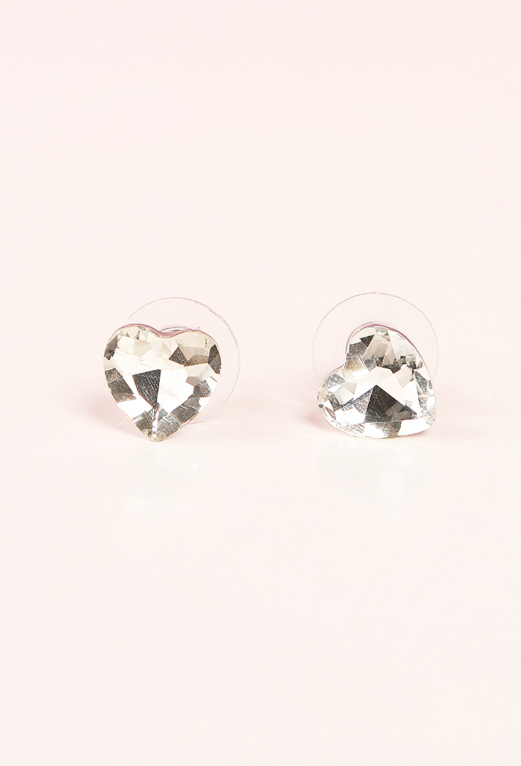 real gold diamond solid w natural certified heart ct earrings shaped studs p