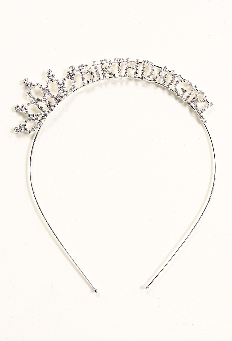 Rhinestone Tiara Birthday Girl Headband  f547415c43e